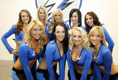 Image result for tampa bay lightning ice girls