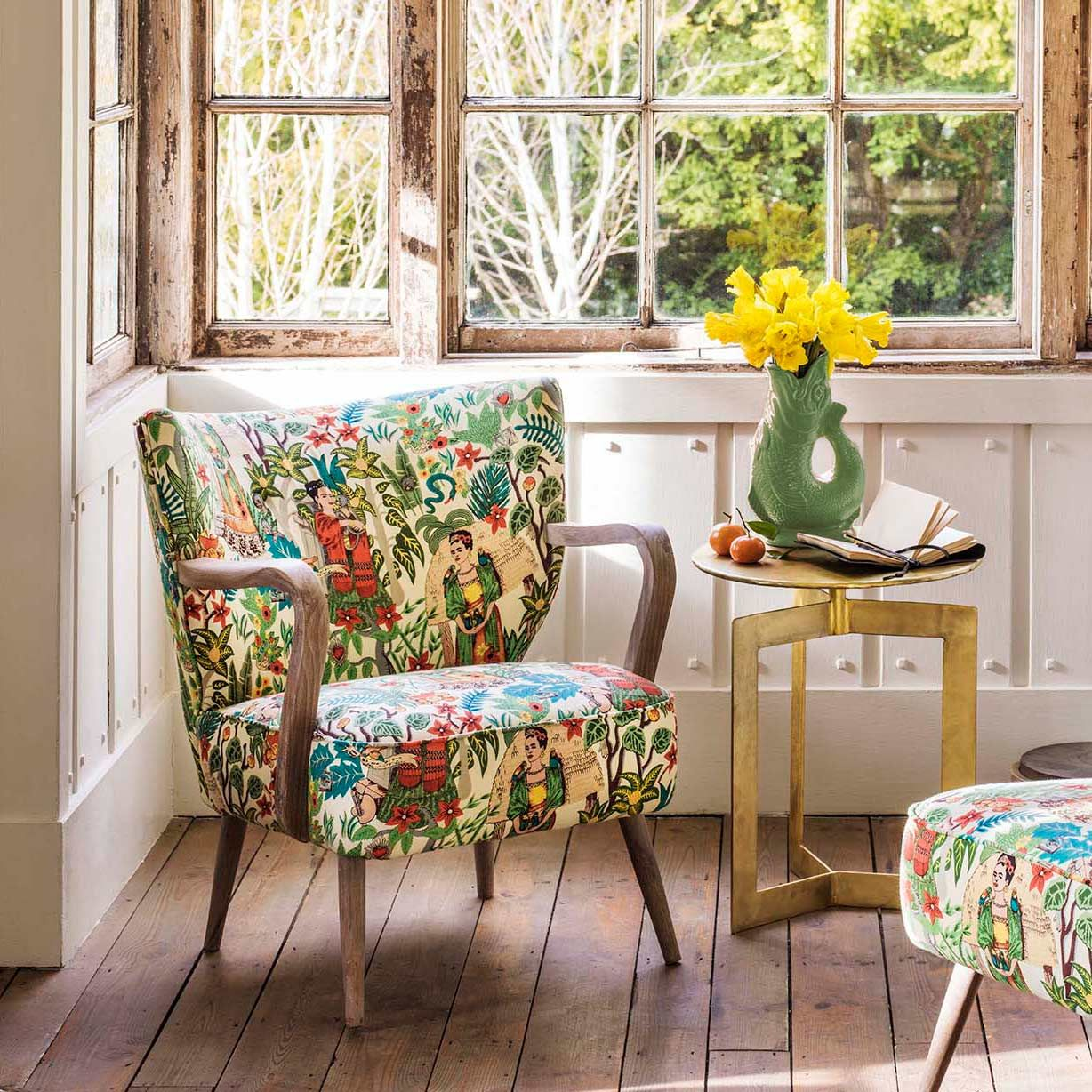 Alpana Mexicana Print Chair (With images) Print armchair