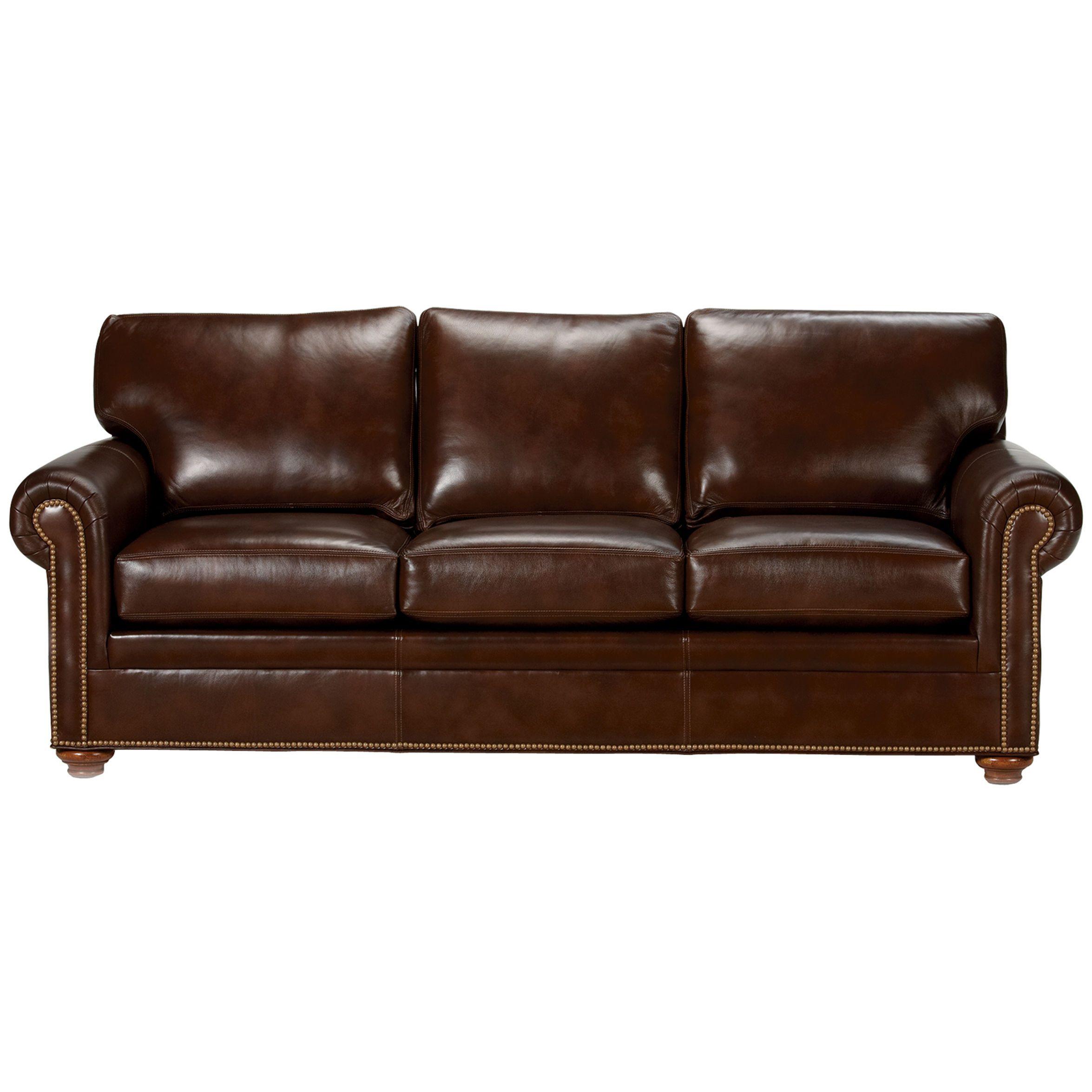 Conor Leather Sofa Omni Brown Leather Sofa Sofa Ethan Allen Sofa