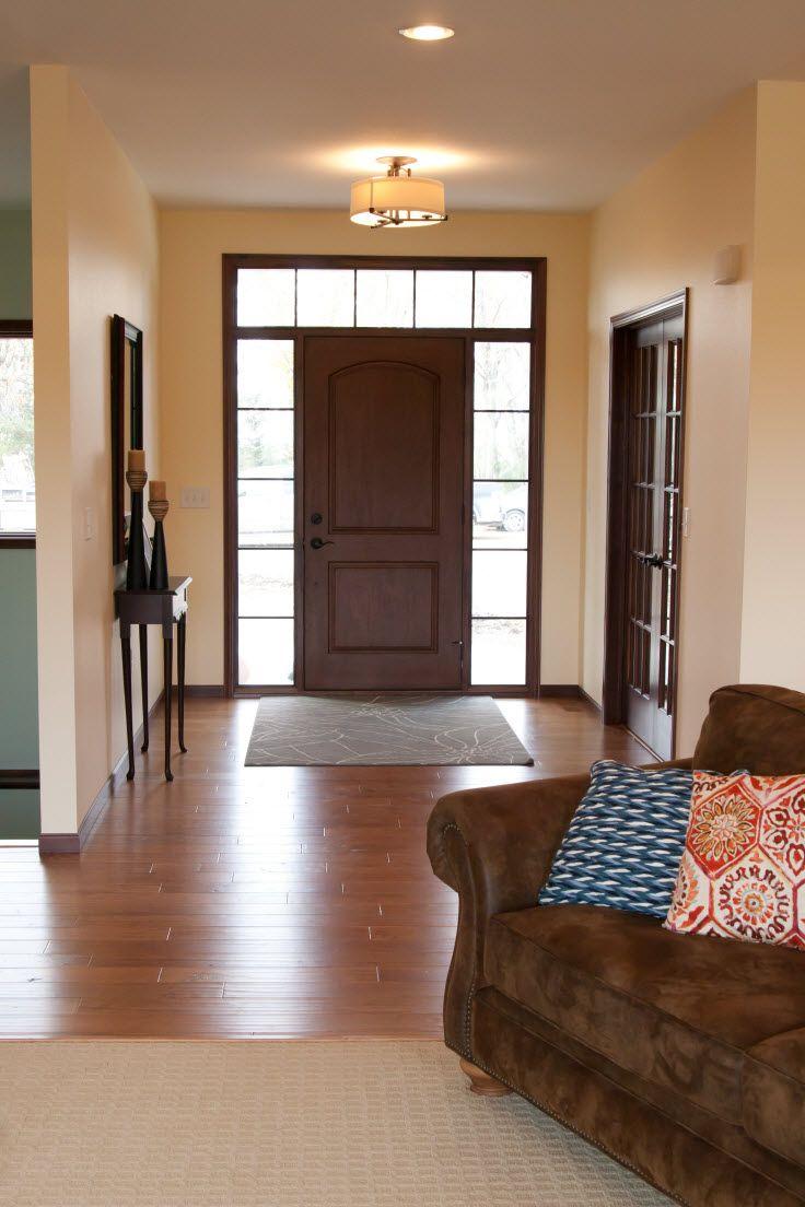 Exterior Doors Rustic Mahogany Fiberglass Door
