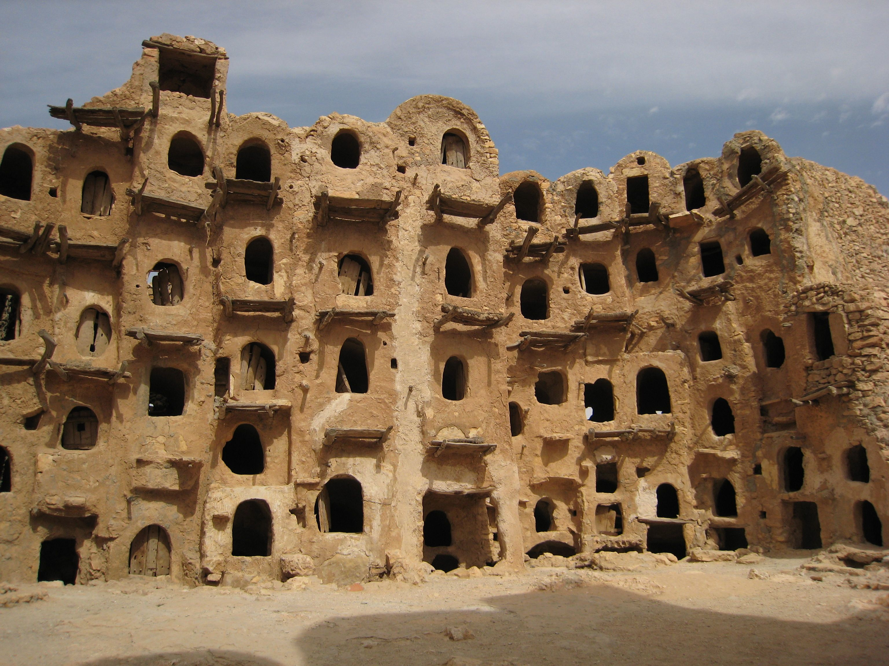 libya archaeology and culture with its fluted corinthian columns