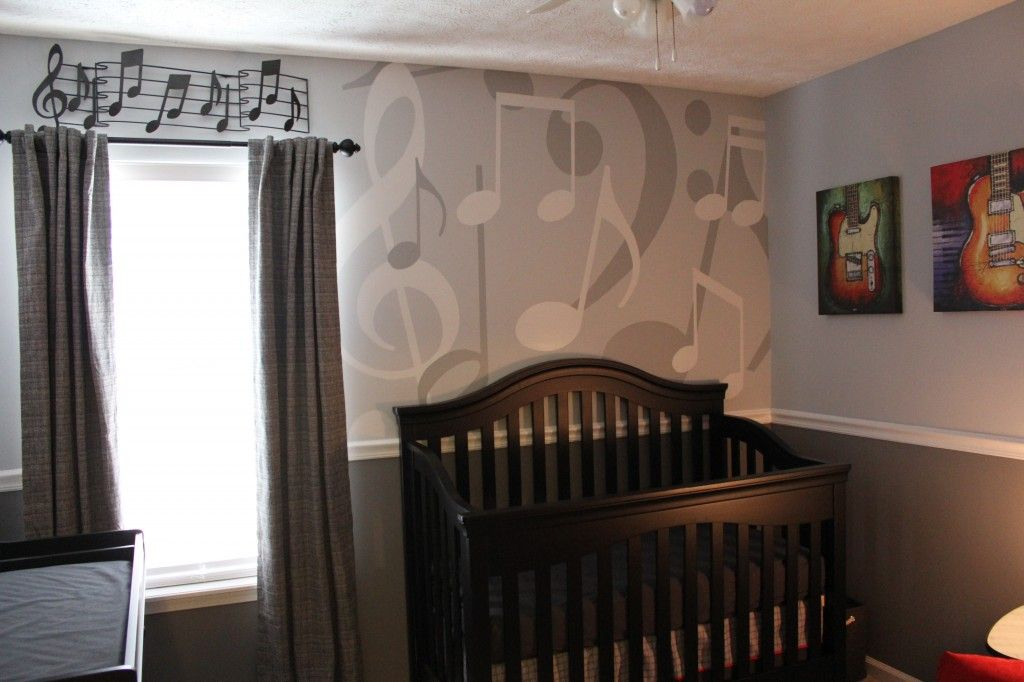 Pin By Lauren Wheatley On Music-Themed Room | Baby Room Themes, Music Nursery, Music Themed Rooms