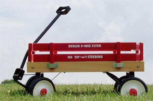 American Made Gifts - Pee-Wee Flyer Wagon