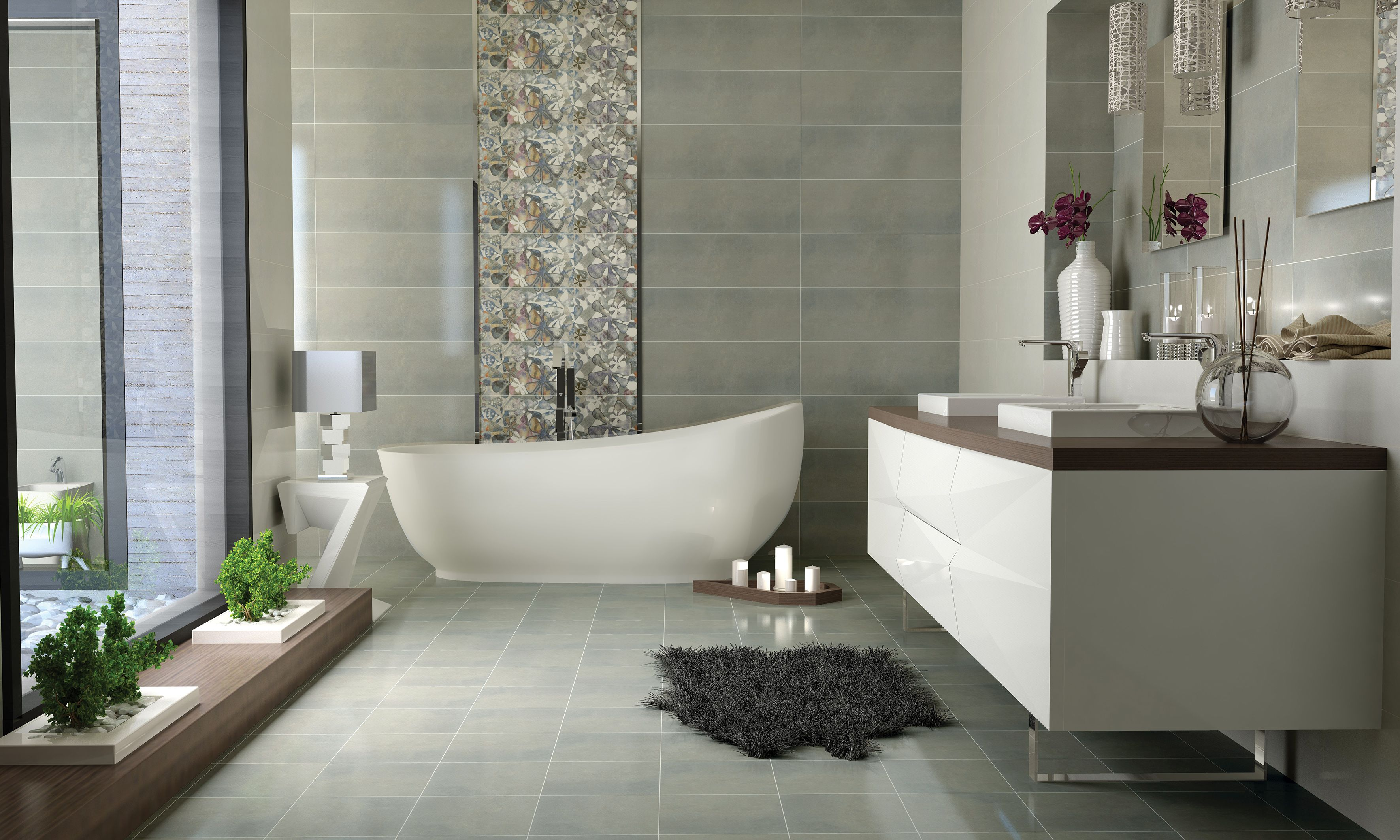 Alvandtile tiles, Disert collection, made by Mona Eslamzade with DomuS3D and V-Ray