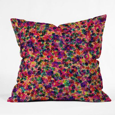 East Urban Home Amy Sia Floral Explosion Throw Pillow in 2018