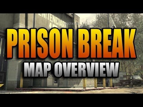Ghosts Map Overview Prison Break Call Of Duty Cod Ghost
