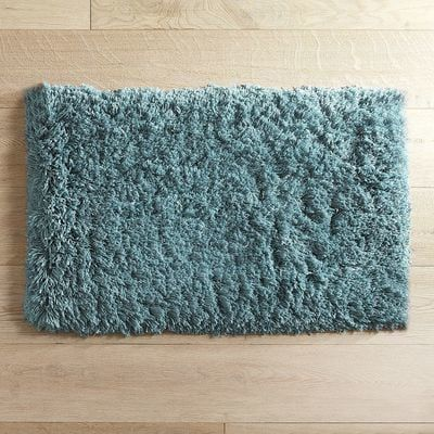Cloud Step Memory Foam Teal Bath Rug Collection Rugs And