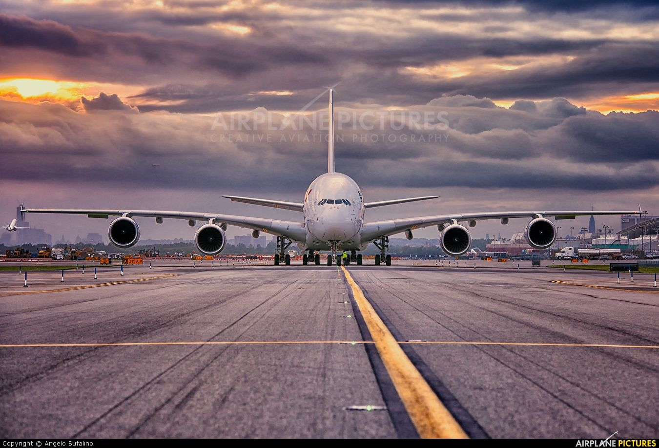 Lovely HDR picture of this Airbus A380861 FHPJA from Air