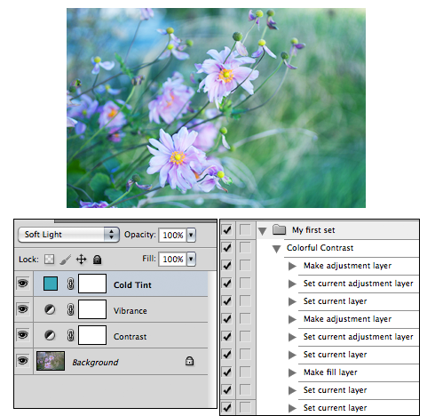 How to make photoshop actions tutorial
