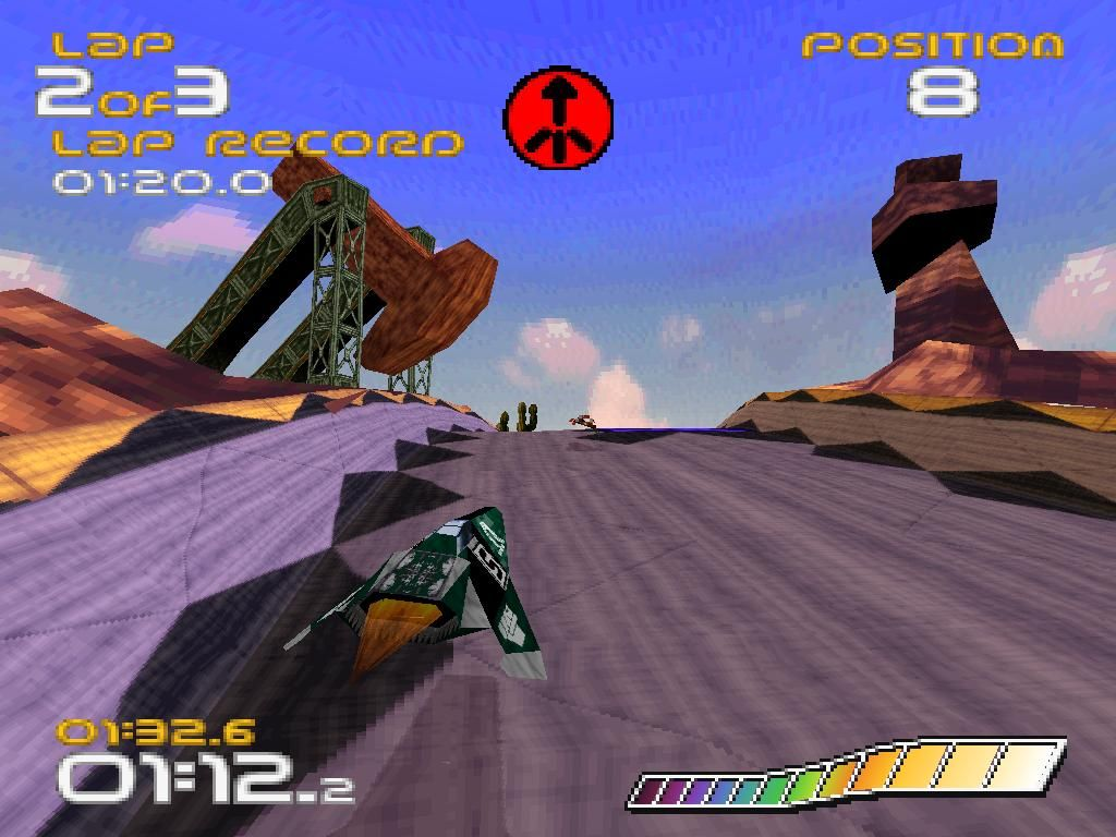 Wipeout PS1 ROM #32