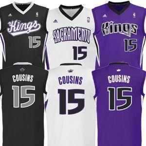 new style cb24f 94d1d Sacramento Kings Demarcus COUSINS Replica Jersey | Hi Emily ...