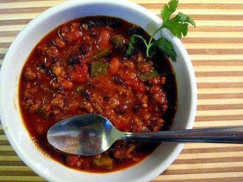 Black Bean And Chorizo Chili Recipe On Food52 Recipe Chorizo Chili Recipe Chili Recipes Chorizo Chili