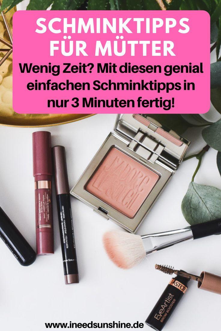 """Photo of Mama Make-up: """"Schnelle Schminktipps für Mütter!"""""""