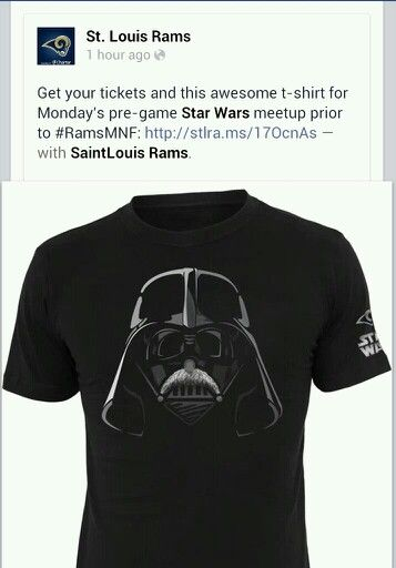 a0394861 Darth vader st louis rams shirt | Wish list | Mens tops, St louis ...