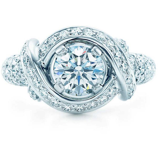 b18f617d7 Schlumberger Engagement Ring Engagement ($24,000) ❤ liked on Polyvore  featuring jewelry, rings, round engagement rings, round ring, engagement  rings, ...