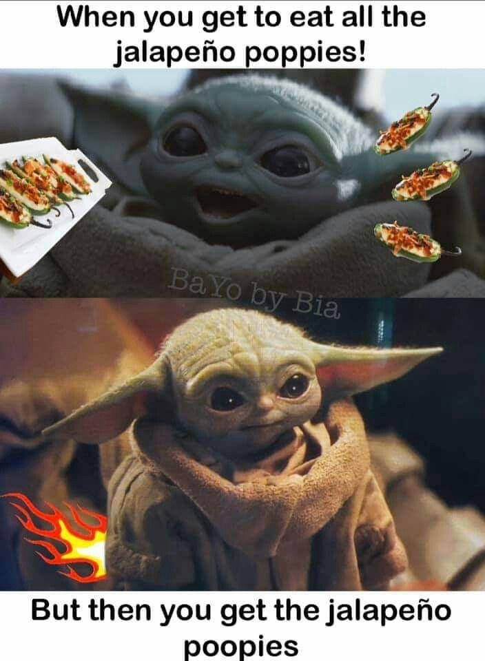 Follow The Real Baby Yoda For More Babyyoda Babyyodamemes Memesdog Cat Memes Meme Dog Cats Dogs Food Donuts Yoda Funny Yoda Meme Star Wars Memes