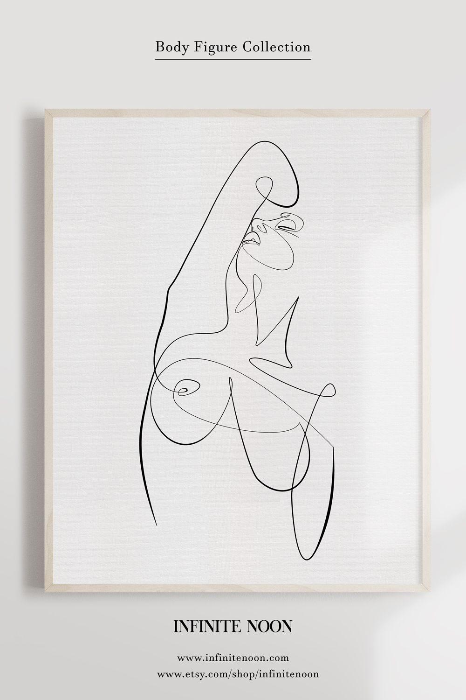 Photo of Feminine Exotic Pose No.4- Printable Wall Art
