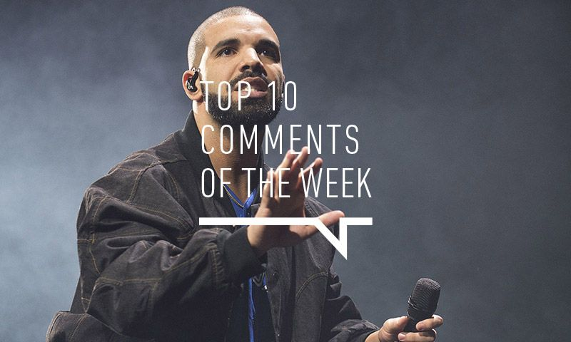 Best Comments of the Week: Drake, Pharrell, Teyana Taylor & More  http://feedproxy.google.com/~r/highsnobiety/rss/~3/N1SwHDgvQRc/