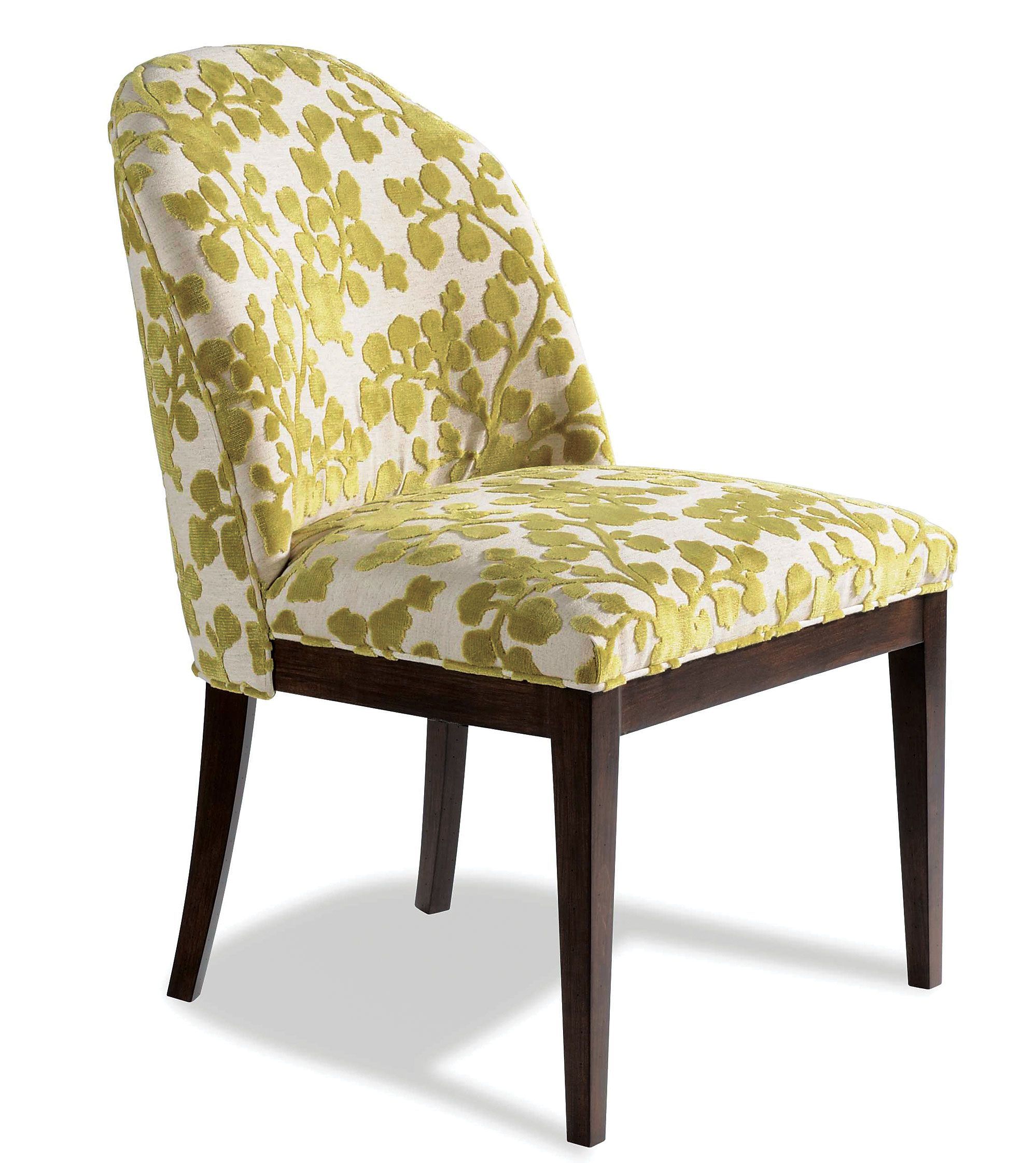 Upholstered in stella peridot taylor kingus dining chair exudes
