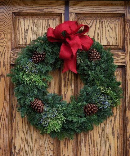 Montana Evergreen Wreath