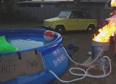 Hillbilly Hot Tub Sort Of Heating Boiler Related Hot Tub