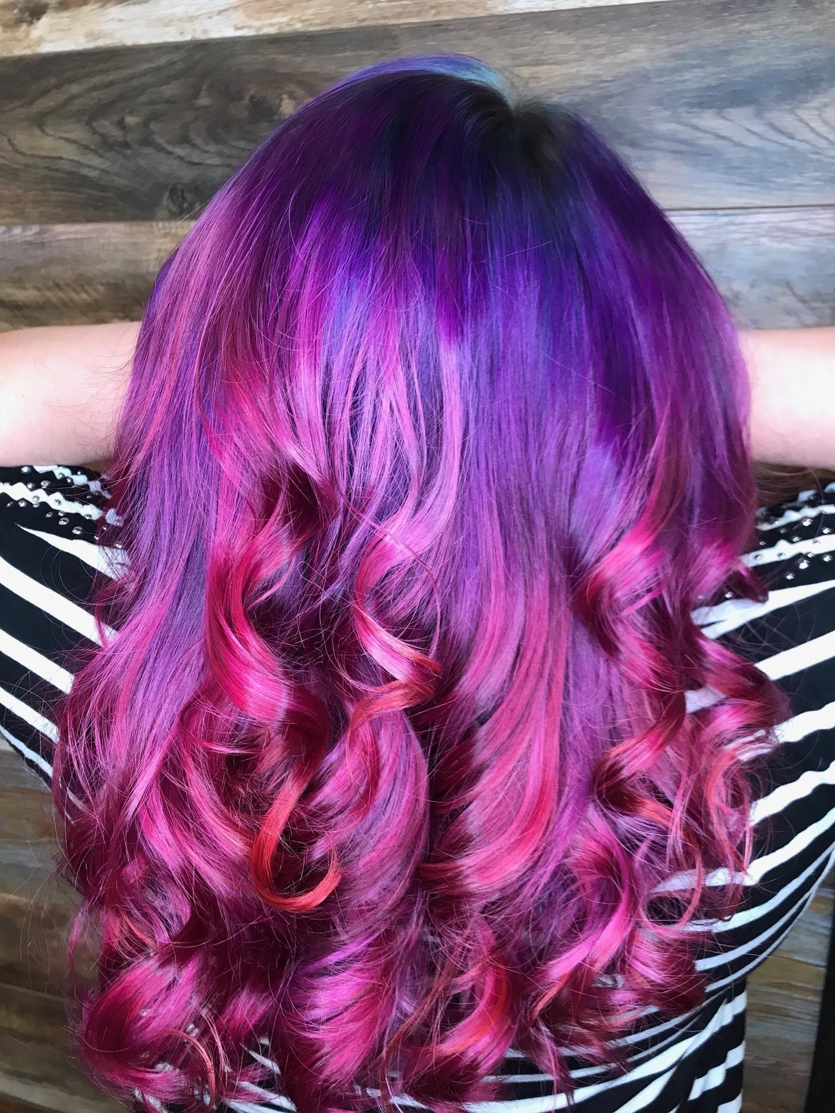 Hair creative color ideas rare photo
