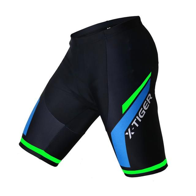Coolmax 5d Padded Cycling Shorts Shockproof Mtb Bicycle Shorts