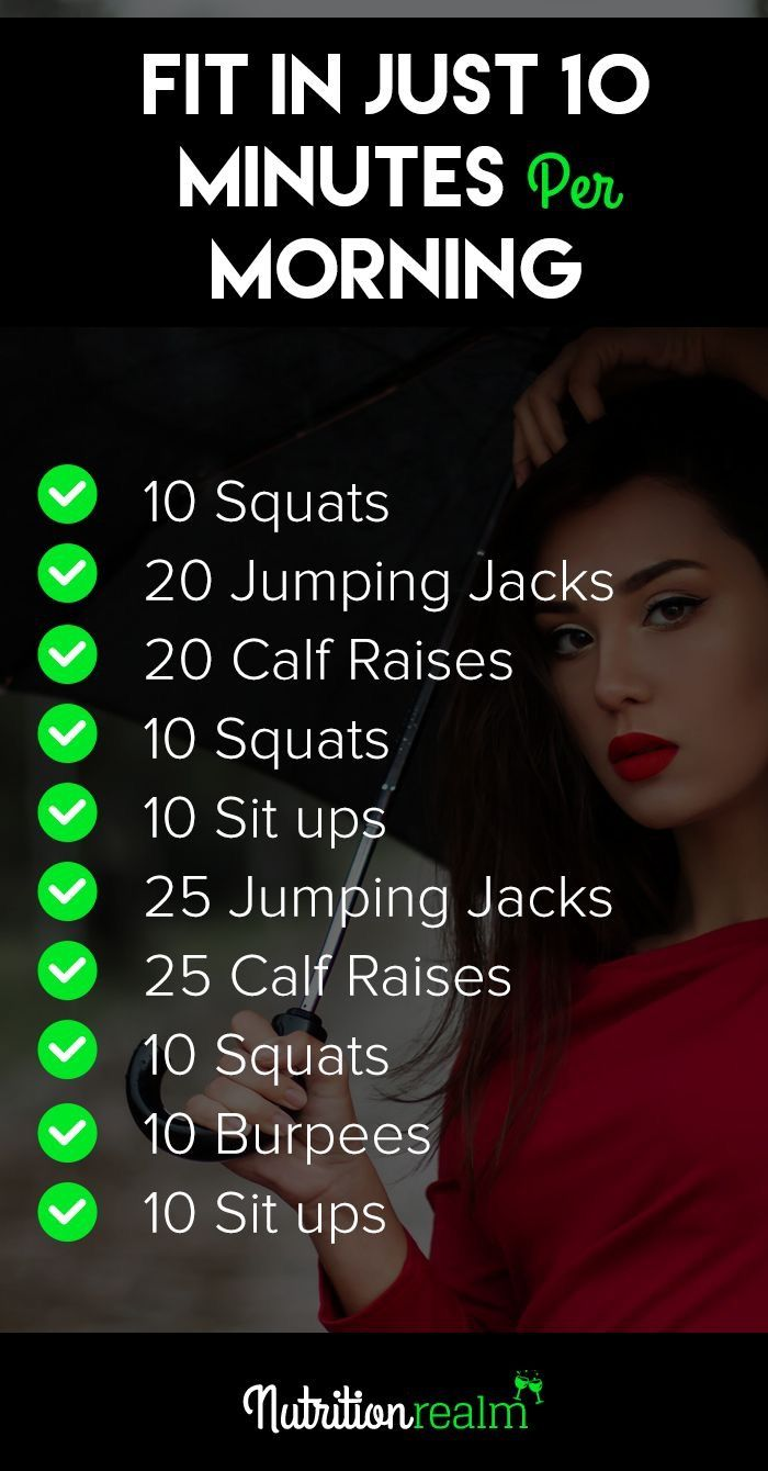 10 Min Morning Workout | Posted By: NewHowToLoseBellyFat.com