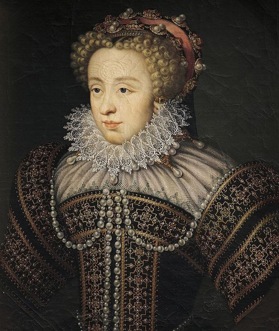 Portrait of Claude of France (Fontainebleau, 1547-Nancy, 1575), daughter of Henry II of France and Catherine de' Medici, wife of Charles III Duke of Lorraine.