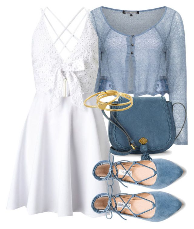 Caroline Inspired Summer Outfit by fangsandfashion on Polyvore featuring  polyvore fashion style Lipsy Mellem Steve Madden