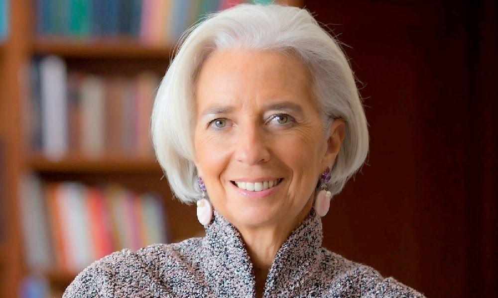 Empresarial Christine Lagarde Es hora de poner en