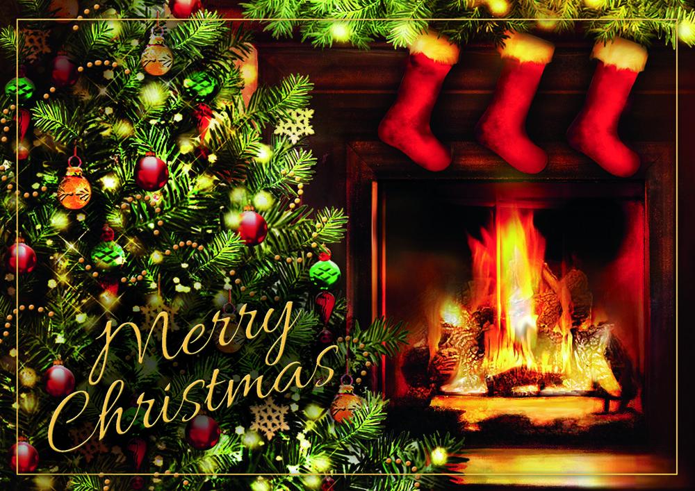 no place like home christmas cards - No Photo Christmas Cards