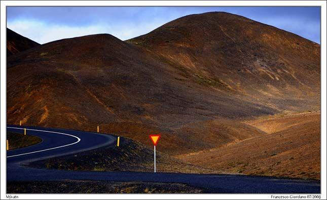 Mývatn, Izland