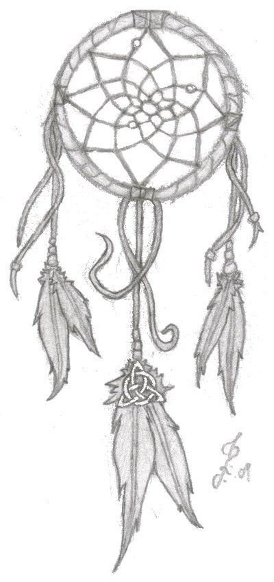 dreamcatcher with celtic knot for family i believe