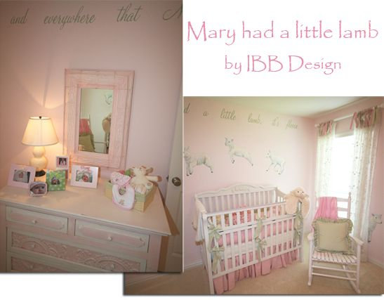 A Little Too Frilly But The Colors Are Great Themed Nurserylambnursery