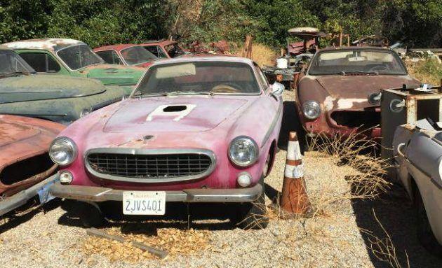 Swedish Graveyard: Volvo Collection in California | Volvo ...