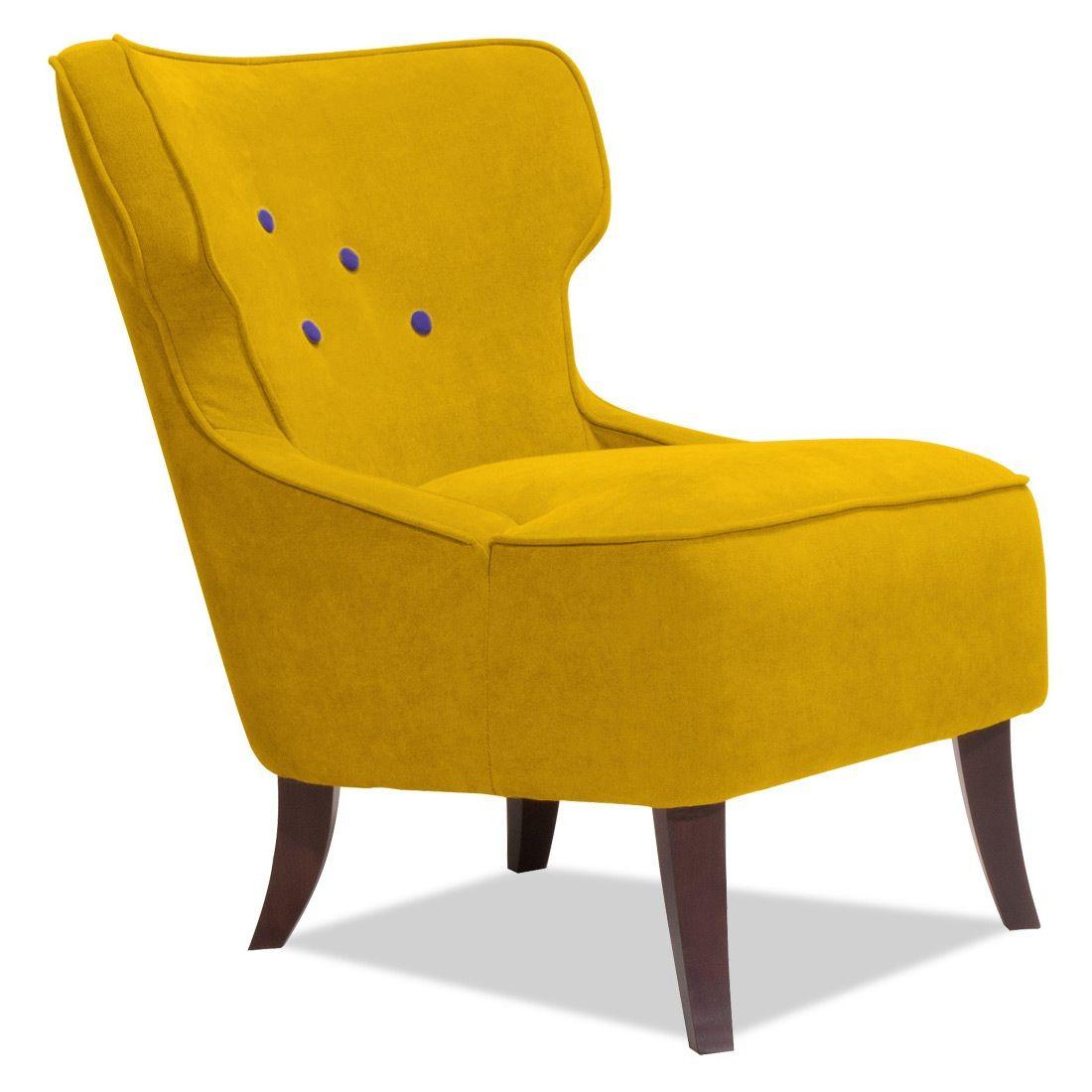Bemerkenswert Designer Fernsehsessel Ideen Von Sessel Senfgelb-violett Loungesessel