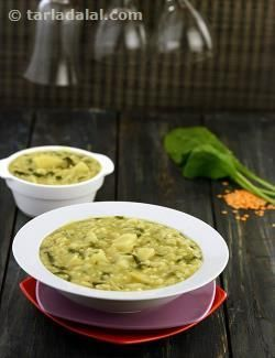 Masoor dal and palak khichdi recipe veggies spinach and lunches forumfinder Gallery