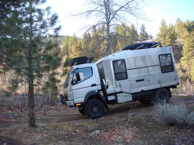Mitsubishi Fuso 4X4 Expedition Vehicle Only $85,000  I can dream