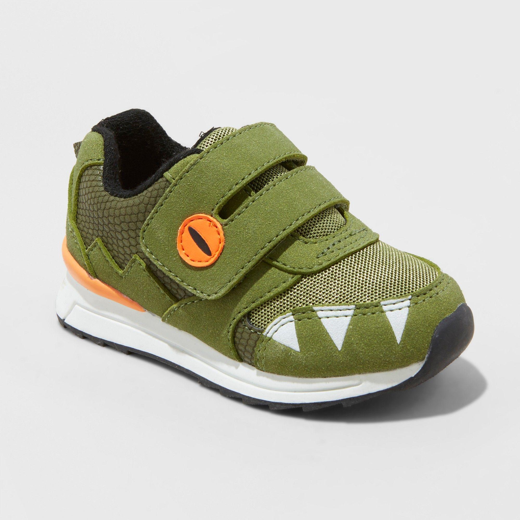 Toddler Boys Monte Sneakers Cat Jack Green 6 Toddler Shoes Sneakers Toddler Boys