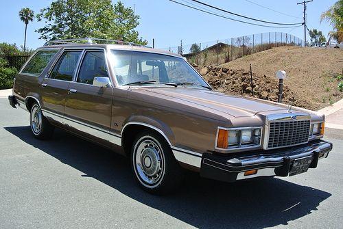 1982 Ford Granada Station Wagon Ford Granada Station Wagon Wagon