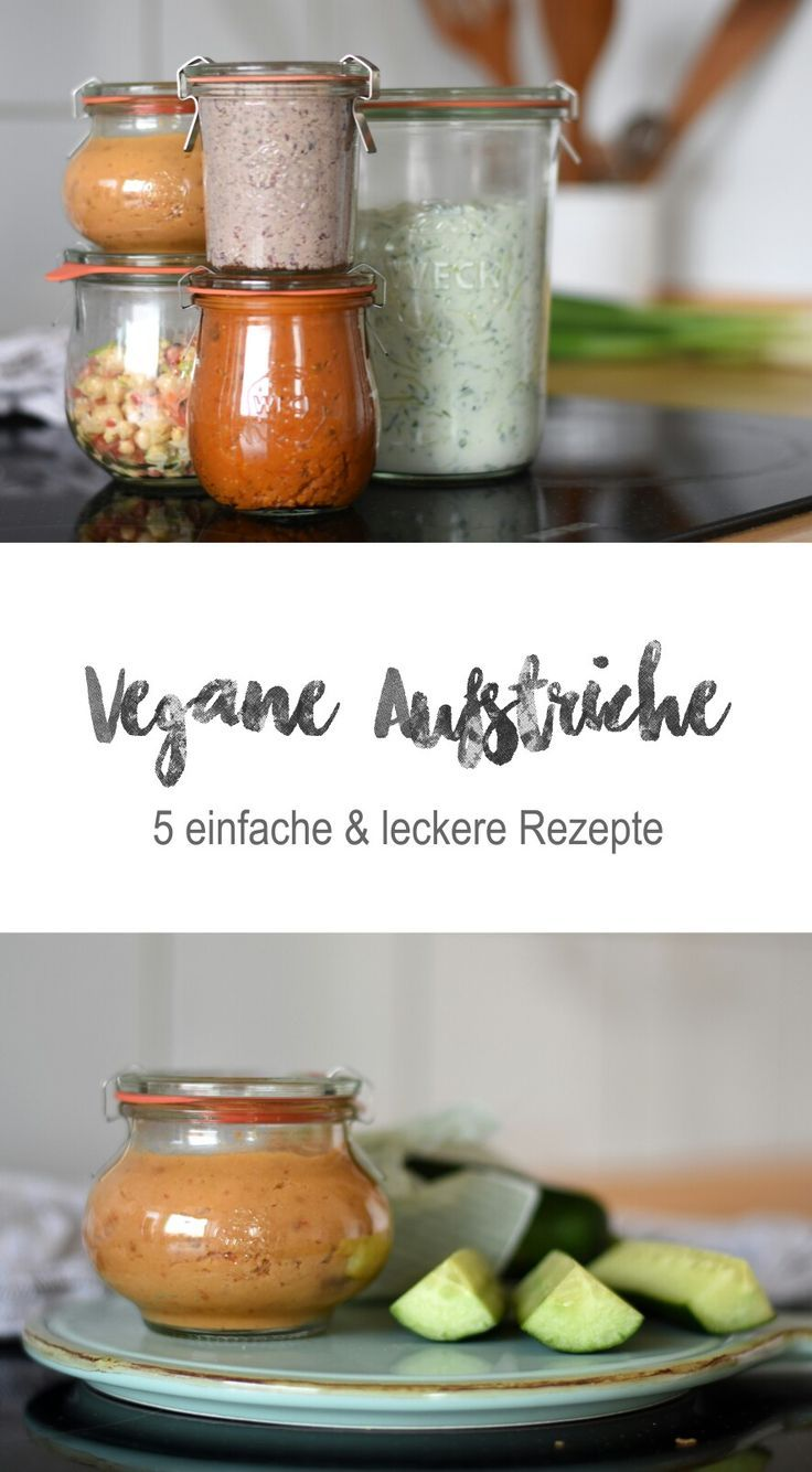 5 vegane Dips & Brotaufstriche – Tiny Green Footsteps