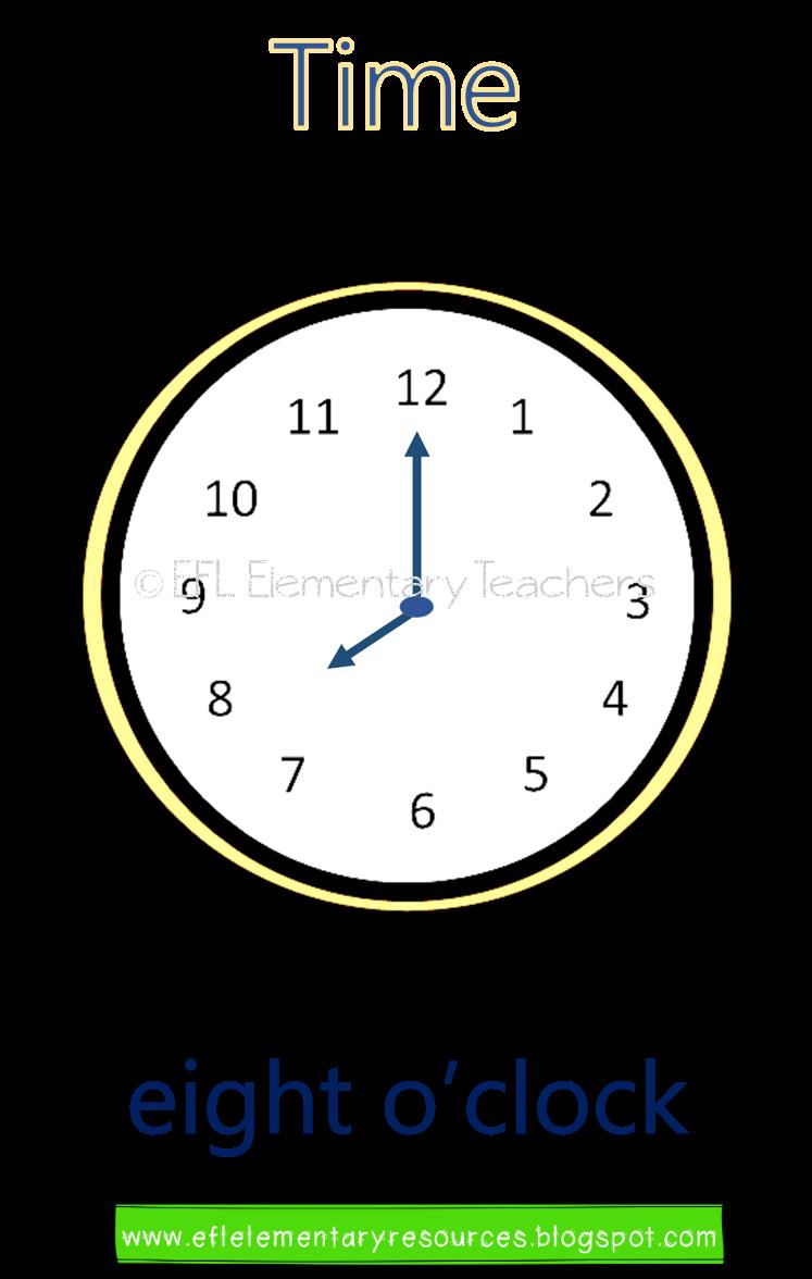 Esl Time Flashcards Start With O Clock Place A Random Flashcard On The Boar In 2020 Elementary Special Education Activities Special Education Elementary Esl Learners
