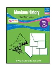 Montana History is a literacy-based lesson aligned with the Common Core Standards.    This 22-page lesson teaches about the state's first people, famous explorers and Native American leaders, early government, important battles and wars in Montana, and the journey to statehood.    After reading about Montana, students will:    answer Reading Comprehension questions, complete a Language Skills activity, use a graphic organizer to write a Mountain Man story, and take a Vocabulary Quiz.