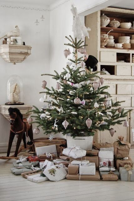 Christmas Home House Christmas Tree Presents Christmas  New
