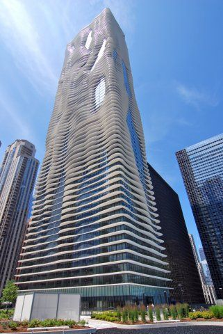 Modern Architecture Chicago radisson blu aqua chicago | radisson hotels | pinterest | chicago
