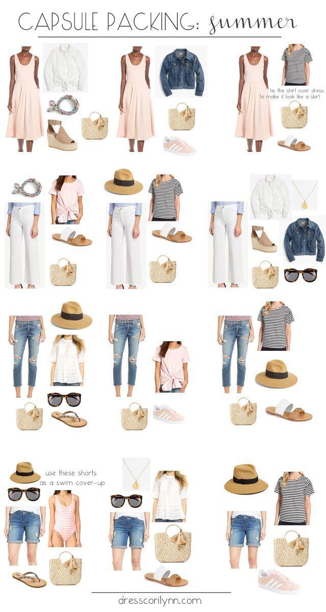 Sommerkapselverpackung  #sommerkapselverpackung #travelwardrobesummer