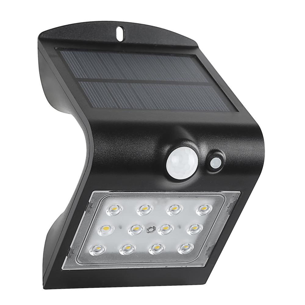 Defiant 120 Degree Solar Motion Activated Outdoor Integrated Led Area Light With Double Lighting Black Swl 1 5w Plus The Home Depot Solar Security Light Security Lights Black Wall Lights