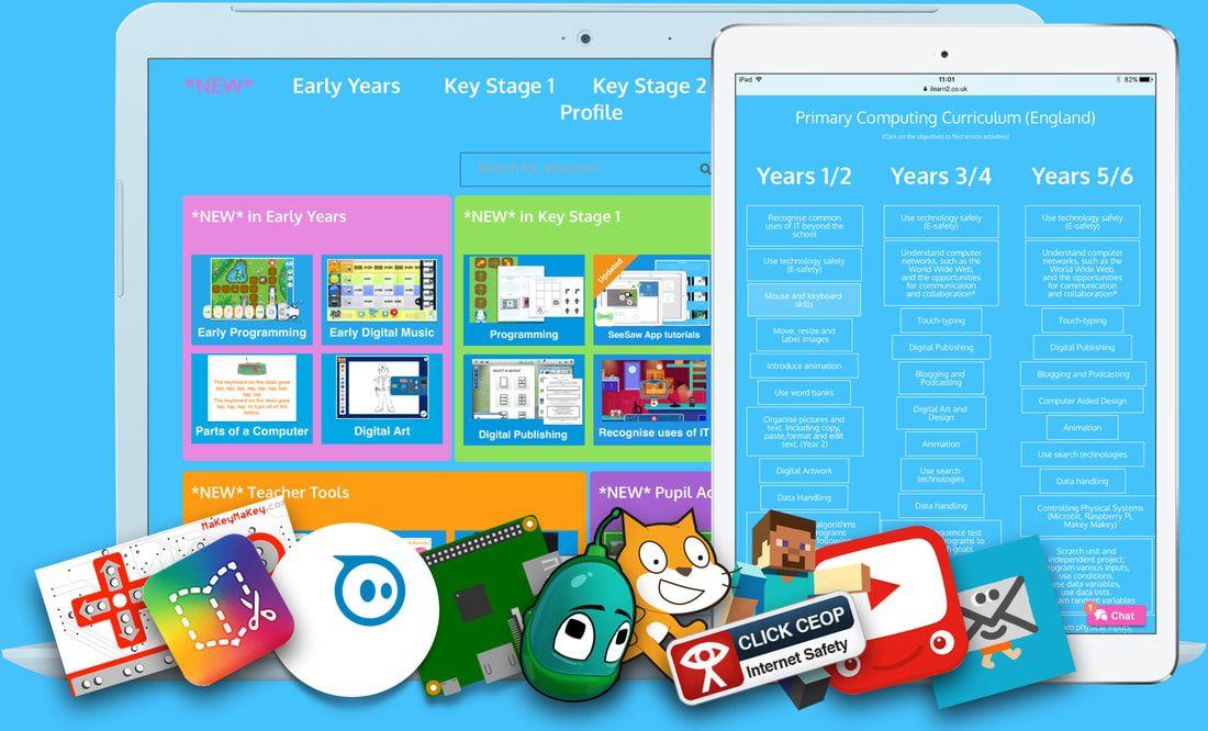 iLearn website Primary Computing made easy. Teaching