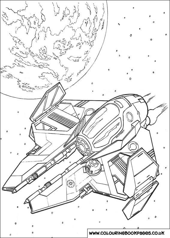 Star Wars Colouring Sheet 50